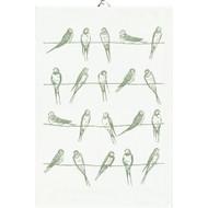 Ekelund Tea/Kitchen Towel - Sitting Birds (Sitting Birds)