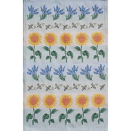 Tea/Kitchen Towel - Bees & Sunflowers (4-Bees)