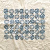 Floursack Tea Towel - Woodland - Blue