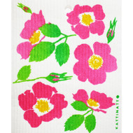 Swedish Dishcloth - Wild Roses (56219)