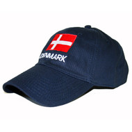 Denmark Flag Embroidered Cap/Golf Hat (GC-D)