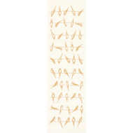 Ekelund Table Runner - Sitting Birds - Yellow (Sitting Birds-12-R)