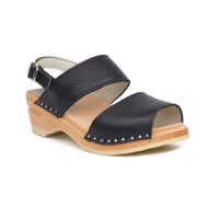 Ingrid Clog-Sandals - Onyx - Women's - Original Sole Collection (481-261)