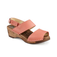 Ingrid Clog-Sandals - Coral - Women's - Original Sole Collection (481-268)