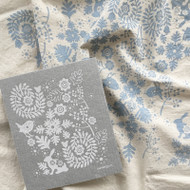 Dish Towel & Dishcloth Set - Small Bunny and Bird - 2 Pc's (TT04S)