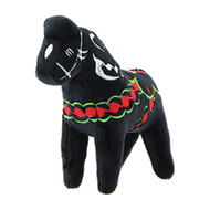 Dala Horse Stuffed Animal - Plush Toy - Black (42532)