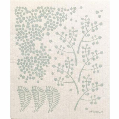 Swedish Dishcloth - Forest - Sage Green (70101)