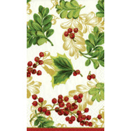 Winter Berries Paper Guest Towel Napkins (10810G)