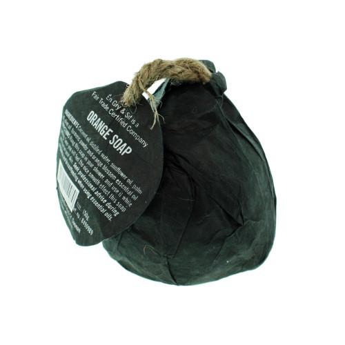 Orange Soap w/rope - 150g (8490989)