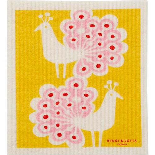 Swedish Dishcloth - Peacock (600389)