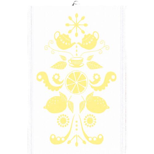 Ekelund Tea/Kitchen Towel - Tinas Kurbits - Yellow (Tinas Kurbits-22T)