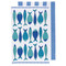 Dish Towel/Kitchen Towel Set - Fish Market - 2 Pc's (2232042)