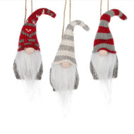 Gnome Ornaments - 3 Piece Set (156399)