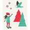 Swedish Dishcloth - Snow Much Fun (70102)