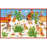 Christmas In The Desert Christmas Card Box A Size 16 In (88006)