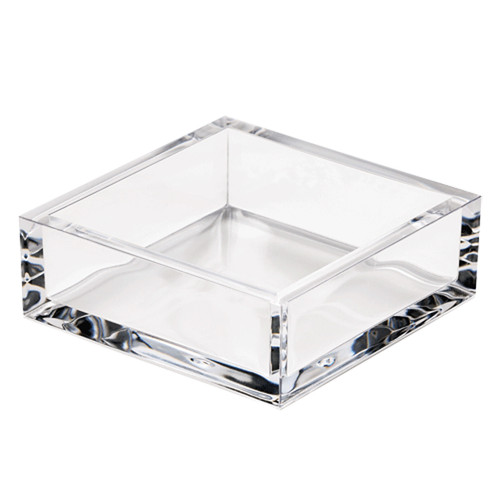 Acrylic Cocktail Napkin Holder - Crystal Clear (HC02)