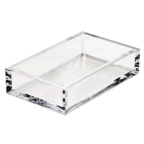 Acrylic Guest Towel Napkin Holder - Crystal Clear (HG02)