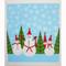 Swedish Dishcloth - Snowmen and Tomte (219.92)