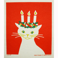 Swedish Dishcloth - Lucia Cat (219.76)