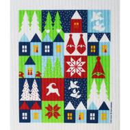 Swedish Dishcloth - Holiday Houses (219.89)
