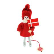 """Pixie Man With Denmark Flag  - 4.5"""""""