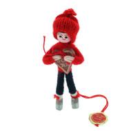 "Pixie Boy With Honey Heart Cake  - 4.5"""