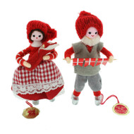 """Pixie Couple With Child - 4.5"""" - Gift Boxed (628)"""