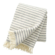 Olle Lambswool Blanket - Light Grey (209301)