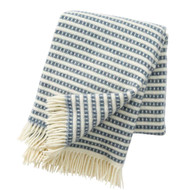 Olle Lambswool Blanket - Smokey Blue (209302)