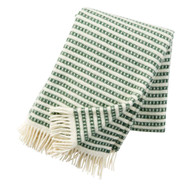Olle Lambswool Blanket - Green (209304)