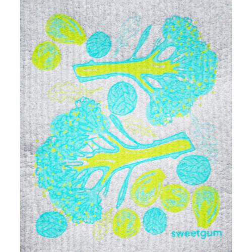 Swedish Dishcloth - Broccoli (70112)