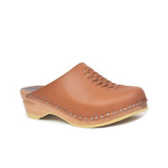 Wright Clogs in Light Brown - Original Sole Collection (166-337)