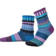 Solmate Socks - Adult Crew - Raspberry (RASPBERRY)