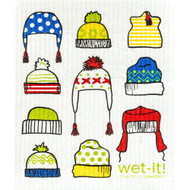 Swedish Dishcloth - Winter Hats