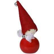 "Tonttu Christmas Elf with Bow - 3.5"" (B6831)"