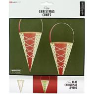 Danish Christmas Cones - 6 pk. (36104)