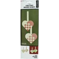 Danish Christmas Braided Hearts Kit - 6 pk. (36105)