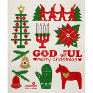 Swedish Dishcloth - God Jul (DT1807)