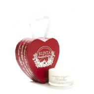 Christmas Heart with a Mistleberry Tealight Candle (K1612)