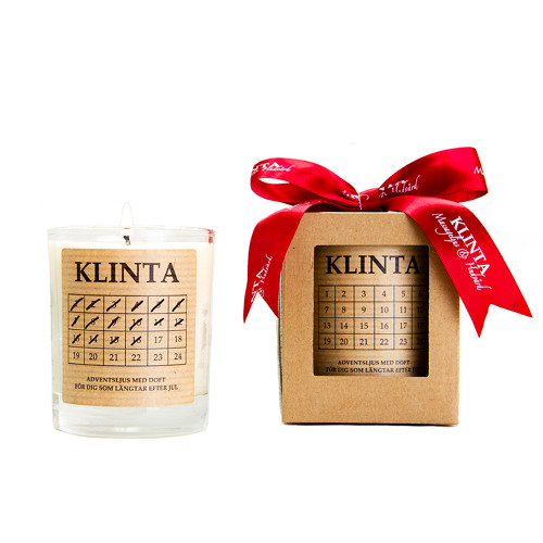 Handmade Scented Natural Soy Advent Candle (K0295)