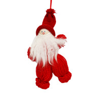 "Tomte Santa Yarn Ornament - 7"" (7292)"