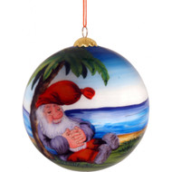"Rolf Lidberg Christmas Ball Ornament - Tomte - 3.5"" (3033)"