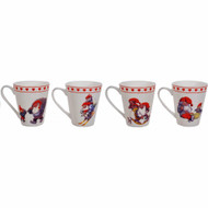 Rolf Lidberg Tomtar Coffee Mugs - Set of 4 (2815)