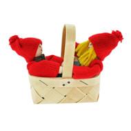 "Tomtar Kids in Basket - 4"" (21810T)"