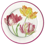 Tulip Dance Paper Dinner Plates (11750DP)