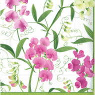 Sweet Peas Paper Cocktail Napkins (11780C)