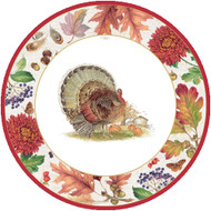 Harvest Gathering (Turkey) Salad/Dessert Plates (12260SP)