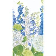 Delphiniums Paper Guest Towel Napkins - 15 Pack (12400G)