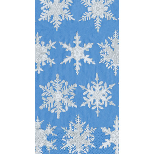 Falling Snow Guest Towel Napkins (12692G)
