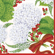 Snowball Hydrangea Cocktail Napkins - 20 Pk (13441C)